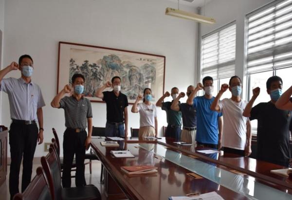党的中国梦_信控学院党总支开展讲党性学党史主题教育活动